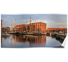 Canning Dock and Albert Dock Poster