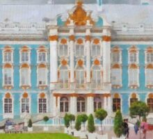Catherine's Palace in Saint Petersburg Sticker