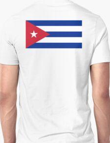 CUBA, CUBAN, CUBAN FLAG, Flag of Cuba, Caribbean, Pure & Simple Unisex T-Shirt