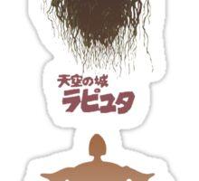 Ghibli Minimalist 'Laputa: Castle in the Sky' Sticker