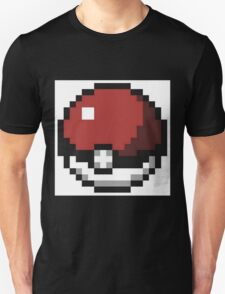 tootiseroll's Pokeball remasterized T-Shirt