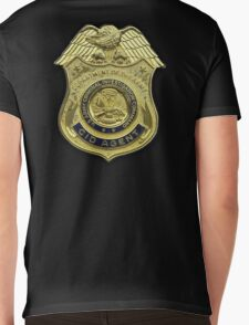 AMERICAN, US, USA, Army, Criminal Investigation Command, CID, Agent, Military Badge Mens V-Neck T-Shirt