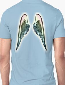 ANGEL, WINGS, Flight, Fly, Angel, Angelic, Angelology, Air Force, Jets Unisex T-Shirt