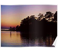 Chesapeake Bay Sunset Poster