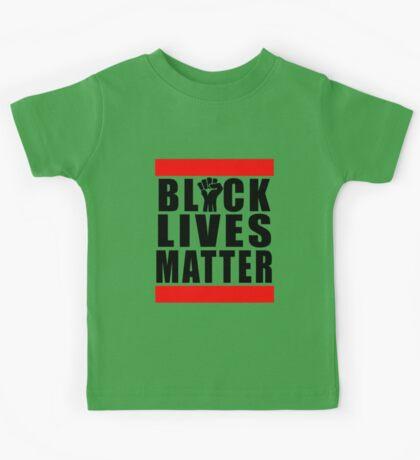 Power Fist Black Lives Matter Kids Tee