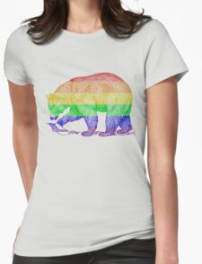Love U Tees Funny Rainbow Animals LGBT Bear Pride Week Swag, Unique Rainbow Gifts Womens Fitted T-Shirt