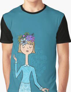 Blue Belle Graphic T-Shirt