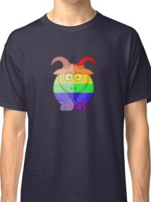 Love U Tees Funny Rainbow Animals Goat LGBT Pride Week Swag, Unique Rainbow Gifts Classic T-Shirt
