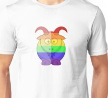 Love U Tees Funny Rainbow Animals Goat LGBT Pride Week Swag, Unique Rainbow Gifts Unisex T-Shirt