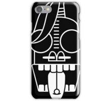 Tribe strange face iPhone Case/Skin
