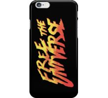 FREE THE UNIVERSE iPhone Case/Skin