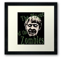 The Plague of the Zombies Framed Print