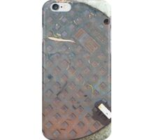 ACO Sewer Manhole Cover iPhone Case/Skin