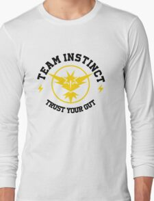 Pokemon Go TEAM INSTINCT Long Sleeve T-Shirt