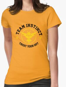 Pokemon Go TEAM INSTINCT Womens Fitted T-Shirt