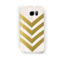 Chevron Gold White Samsung Galaxy Case/Skin