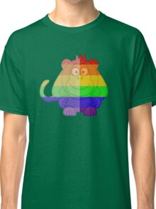 Love U Tees Funny Rainbow Animals monkey LGBT Pride Week Swag, Unique Rainbow Gifts Classic T-Shirt