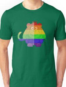 Love U Tees Funny Rainbow Animals monkey LGBT Pride Week Swag, Unique Rainbow Gifts Unisex T-Shirt