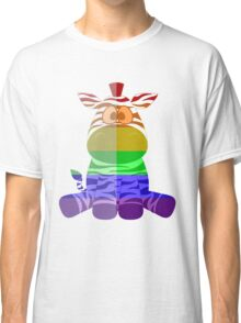 Love U Tees Funny Rainbow Animals zebra LGBT Pride Week Swag, Unique Rainbow Gifts Classic T-Shirt