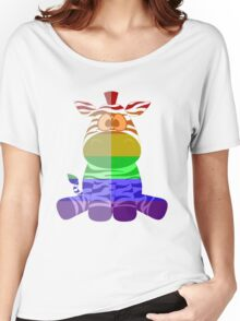 Love U Tees Funny Rainbow Animals zebra LGBT Pride Week Swag, Unique Rainbow Gifts Women's Relaxed Fit T-Shirt