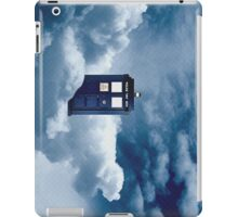 Tardis on a cloud iPad Case/Skin