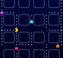 pac-man  by Lenny007