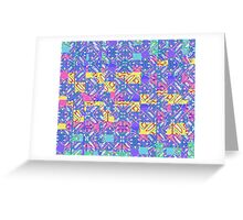 Stylized Bandana Greeting Card