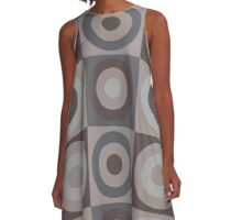 Post Nuclear Roundel A-Line Dress