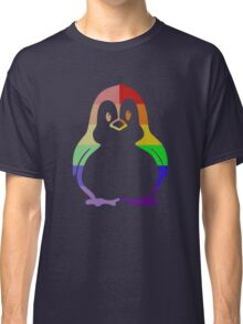Love U Tees Funny Rainbow Animals Penguin, Bird LGBT Pride Week Swag, Unique Rainbow Gifts Classic T-Shirt
