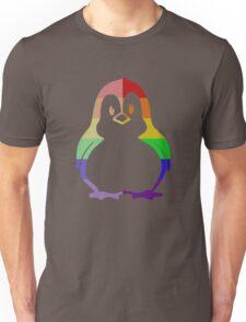 Love U Tees Funny Rainbow Animals Penguin, Bird LGBT Pride Week Swag, Unique Rainbow Gifts Unisex T-Shirt