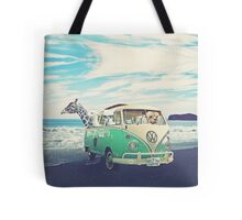 NEVER STOP EXPLORING - MALIBU WINE SAFARI EDITION Tote Bag