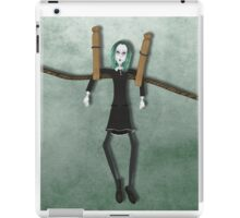 Lenore Hanging Out Green iPad Case/Skin