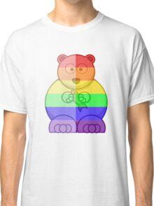 Love U Tees Funny Rainbow Animals Polar Bear LGBT Pride Week Swag, Unique Rainbow Gifts Classic T-Shirt