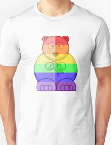 Love U Tees Funny Rainbow Animals Polar Bear LGBT Pride Week Swag, Unique Rainbow Gifts Unisex T-Shirt