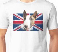 Bull Terrier UK grunge FLAG Unisex T-Shirt