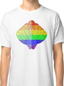Love U Tees Funny Rainbow Animals Peacock, bird LGBT Pride Week Swag, Unique Rainbow Gifts Classic T-Shirt