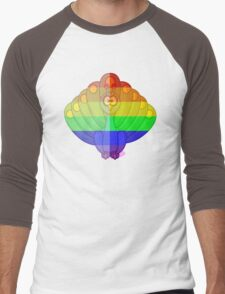 Love U Tees Funny Rainbow Animals Peacock, bird LGBT Pride Week Swag, Unique Rainbow Gifts Men's Baseball ¾ T-Shirt