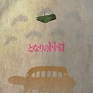 Ghibli Minimalist 'My Neighbour Totoro' by doodlewhale