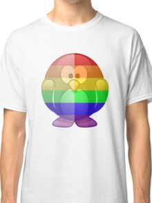 Love U Tees Funny Rainbow Animals Penguin LGBT Pride Week Swag, Unique Rainbow Gifts Classic T-Shirt