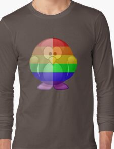 Love U Tees Funny Rainbow Animals Penguin LGBT Pride Week Swag, Unique Rainbow Gifts Long Sleeve T-Shirt