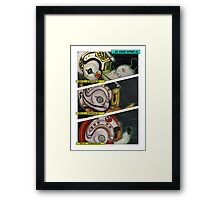 All Wings Report In Framed Print