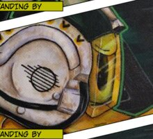 All Wings Report In Sticker