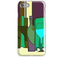 POPPING BOTTLES - BLURRED SPACES iPhone Case/Skin