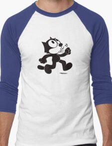 Stray Cat Strut Men's Baseball ¾ T-Shirt