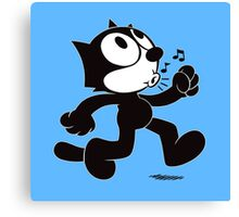 Stray Cat Strut Canvas Print