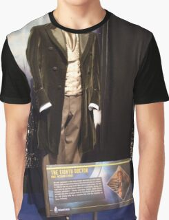Who is the Doctor?  the 8th Doctor Costume Graphic T-Shirt
