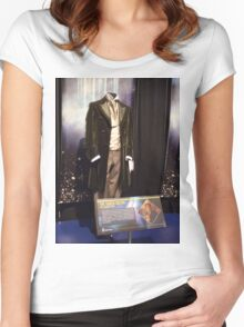 Who is the Doctor?  the 8th Doctor Costume Women's Fitted Scoop T-Shirt