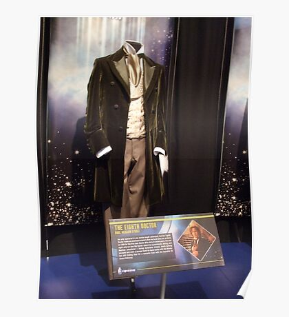 Who is the Doctor?  the 8th Doctor Costume Poster
