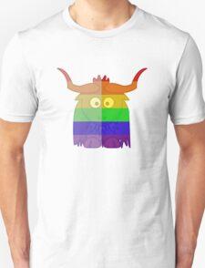 Love U Tees Funny Rainbow Animals Yak LGBT Pride Week Swag, Unique Rainbow Gifts Unisex T-Shirt