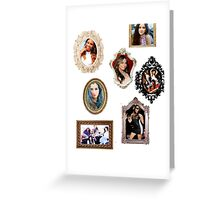 Fifth Harmony Mirrors! Greeting Card